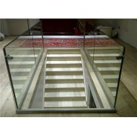 Wholesale Aluminum U Channel Glass Railing with Aluminum Base Channel Floor Fixing from china suppliers