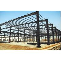 China Q345 / Q235B Prefabricated Steel Frame Buildings Pre Cut Environment Friendly on sale