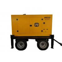 Wholesale Closed Cooling  50KVA 50HZ  Trailer Mounted Diesel Generator With Stamford Alternator from china suppliers