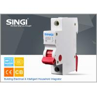 Wholesale IEC 60898 1P 6A 230/400V 50HZ high breaking capacity to 10000 /CE certificate mini circuit breaker from china suppliers