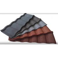 Wholesale Colorful Stone Coated Metal Building Roof Tiles tone Coated Aluminum Roof Tile from china suppliers