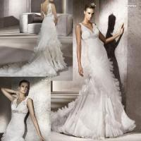 Wholesale Romantic Bridal Gown (111138) from china suppliers
