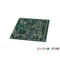 Wholesale PCB Multilayer Circuit Board Green Solder Mask With Immersion Gold Operating Line from china suppliers
