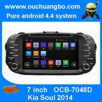 Wholesale Ouchuangbo Auto Video GPS Stereo DVD Player for Kia Soul 2014 Android 4.4 System 3G Wifi from china suppliers