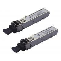 Wholesale 2.5G ZX 1550nm 120km LC Optical Interface Fiber Optic Transceiver For CWDM MUX Links from china suppliers