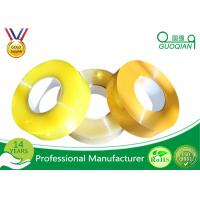 Quality Hot Melt Transparent BOPP Packing Tape For Carton Sealing Environmental for sale