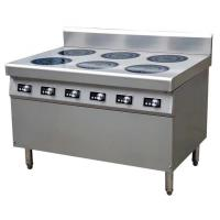 Wholesale 21 kw induktionspis 6 plattor 6*3.5KW Commercial Induction Cooker Easy Clean Fully Modular from china suppliers
