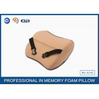Quality High Density Memory Foam Auto Car Neck Support Pillow With Washable Breathable Cover for sale