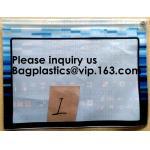 China Waterproof Regatta Document Pouch Zip-Lock Zipper Documents Bags Vinyl Documentation File Bags Stitched Sailcloth Pouche for sale