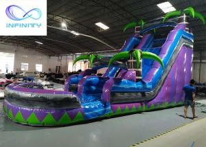 Wholesale 2021 Commercial Kids Jumping jungle slide Inflatable Water Slide For sale from china suppliers