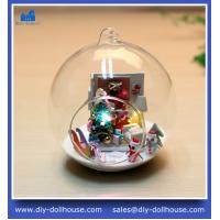 Wholesale Creative educational toy building diy 3d puzzle mini glass house MG005 from china suppliers