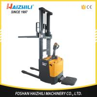 Wholesale Made In China Warehouse Used 1600mm 1 ton Electric Pallet Stacker from china suppliers