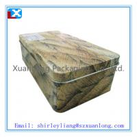 Wholesale Big Rectangular Candy Packaging Tin Box from china suppliers
