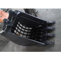 Wholesale Komatsu PC120 Excavator Screening Bucket With Heavy Duty Interlocking Ribs from china suppliers