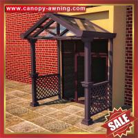 Wholesale outdoor villa house patio gazebo porch door aluminum alu metal glass awning canopy canopies cover cabin shelter kits from china suppliers