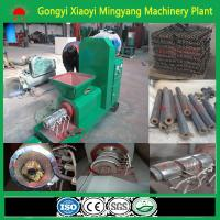Best quality no any binder screw type wood charcoal briquette machine from