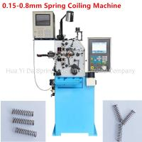 China Custom CNC Spring Machine / Spiral Spring Machine For Wire Size 0.8mm for sale