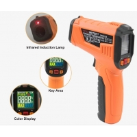 Wholesale 2020 The Most Popular High precision digital laser infrared thermometer with LCD for industrial and domestic use from china suppliers