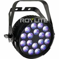 Wholesale 6 DMX Ch Studio LED Par Cans , RGBW No Fan Quiet LED Wash Lights from china suppliers