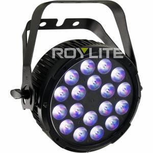 Quality 6 DMX Ch Studio LED Par Cans , RGBW No Fan Quiet LED Wash Lights for sale