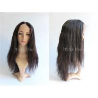 Straight Glueless Full Lace Wigs Brazilian Hair No Shedding No Tangle for sale