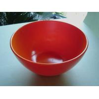 China OEM / ODM Customed Design Practical Red Non-toxic Rubber Mixing Bowl for Kitchenware on sale