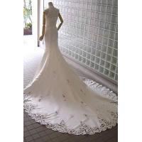 Wholesale wholseal high quality lace long trailing mermaid wedding dress,bridal gown MR-2-0034 from china suppliers