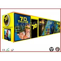 China Movable 7D Mobile Cinema Movies 4 Seats / 6 Seats Digital Control on sale