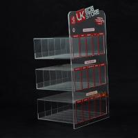 Wholesale E Liquid 3 Tier Acrylic Retail Display Stands 200PCS For Adevertisement from china suppliers