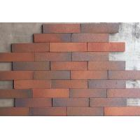 China Outdoor Decorative Thin Clay Bricks Extruded / Sintered For Building Facade on sale