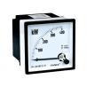 400KW Single Phase Analog Watt Meter / Panel Mount Digital Voltmeter , Voltage Meter 96*96 for sale