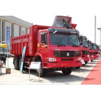 Wholesale 6x4 Full Fender EURO III in White Yellow and Red HOWO Heavy Duty Dump Truck Tipper Truck from china suppliers