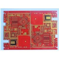 Wholesale Red Solder Mask Prototype High Density Interconnect HDI PCB High TG Material 20 Layer from china suppliers