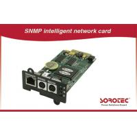 SNMP card UPS Accessories benefit for automatization and network management for sale