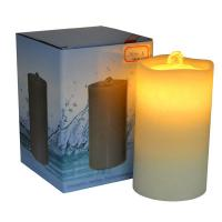 China Lithium Battery Wave Top Flameless Candle Fountain With Remote Control on sale