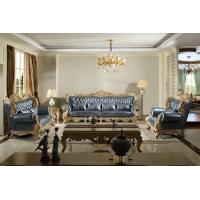 Wholesale Joyful Ever Luxury Genuine leather 1+2+3 seat Sofa in European Classic design Furniture from china suppliers