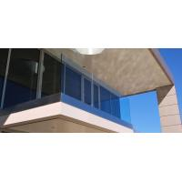 Wholesale Exterior High Grade Stainless Steel Tempered Glass Aluminum Balcony Railing from china suppliers
