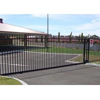 Wholesale Residential Automatic Sliding Gates For Driveways Hot Dipped Galvanized Treatment from china suppliers