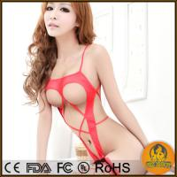 China Sexy Lingerie Halterneck Stripper Open Bra Crotch Hot Underwear Lace Nightclothes on sale