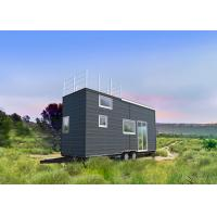 China Light Steel Tiny Prefab Homes With Integrated Wall Panel for sale