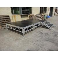 Wholesale Assemble Stage Aluminum Alloy Glass Stage Folding Stage Portable Aluminum Wooden Platform Mobile Stage for Event from china suppliers