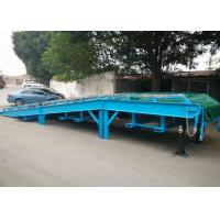 Wholesale Separated Forklift Mobile Yard Ramp , Portable Dock Ramps Steel Mesh Material from china suppliers
