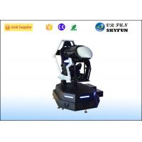 Wholesale Leather Seat Virtual Reality Racing Simulator With Server Control System from china suppliers