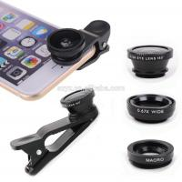 Wholesale 3 In 1 Mobile Phone Camera Lens ,12X Telescope Lens For Iphone Samsung Tablet PC from china suppliers