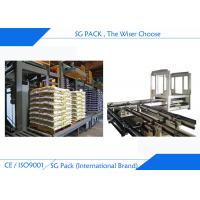 China Compound Fertilizer Automatic Packing Machine 20 - 50 Kg Woven Bag Auto Packing Sealing on sale