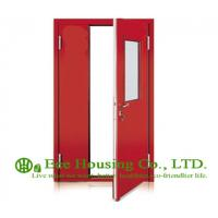 China Steel Fire Retardant Door with Glass Vision With Fire Proof Certification, Fire Rated Door Manufacture In China on sale