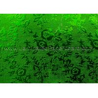 China Green Color PET Laminate Film Paper for Wedding Decoration/Christmas Boxes for sale