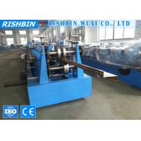 China 8 m / min Zee Section Steel Purlin Roll Forming Machinery with 14 Roll Stations on sale