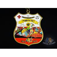 Buy cheap Fashionable Design Enamel Medals 3d Medals 12 Colors And Gold Plating from wholesalers
