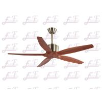 China East Fan 52 inch five nature wood blades modern ceiling Fans without light on sale